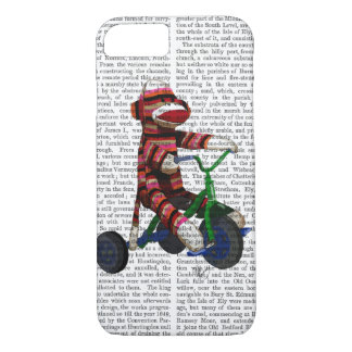 Sock Monkey on Tricycle iPhone 8/7 Case