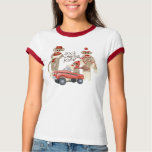 Sock Monkey Pedal Car, Sock Monkeys Rule T Shirt