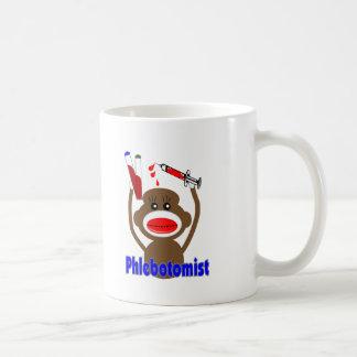 Sock Monkey Phlebotomist Gifts--Adorable Coffee Mug