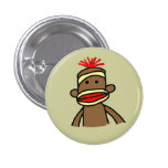 Sock Monkey Pins