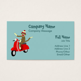 28+ Sock Monkey Business Cards and Sock Monkey Business Card ...