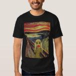 Sock Monkey Scream dark T-shirt