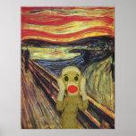 Sock Monkey Scream poster