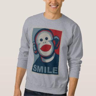 Sock Monkey Smile Sweatshirt