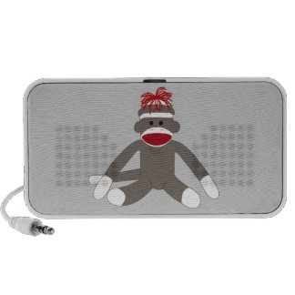 Sock Monkey Travel Speaker