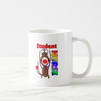Sock Monkey Student Nurse Mugs