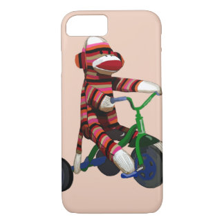 Sock Monkey Tricycle iPhone 8/7 Case