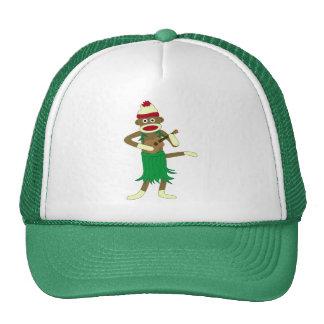 Sock Monkey Ukulele Hat