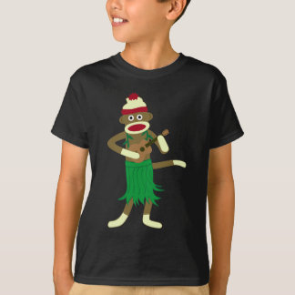 Sock Monkey Ukulele T-Shirt