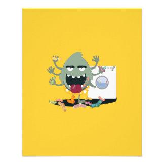 Sock Monster 11.5 Cm X 14 Cm Flyer