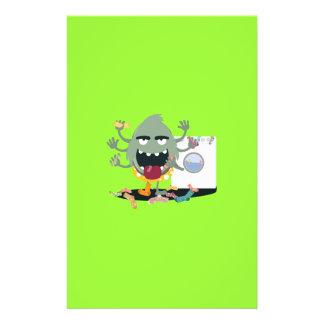 Sock Monster 14 Cm X 21.5 Cm Flyer