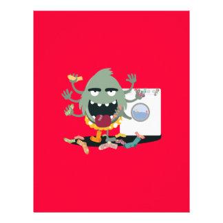 Sock Monster 21.5 Cm X 28 Cm Flyer
