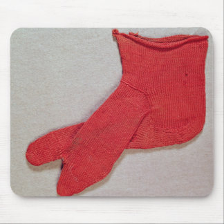 Sock, one of a pair from Egypt, Egypto-Roman perio Mouse Pad