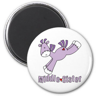 Sock Pony Middle Sister Magnet