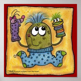 Sock Puppet Fun Poster
