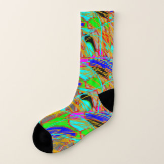 Socks: Coloured Abstract 1
