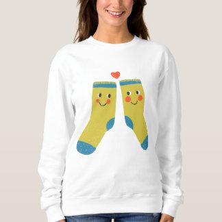 Socks in love sweatshirt
