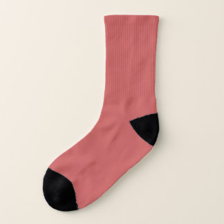 Socks: Indian Red Coloured 1