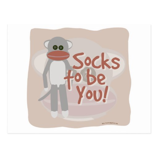 Socks to be You! Postcards
