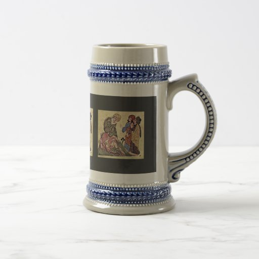 Socrates And Two Students By Meister Des Al-Mubash Mugs