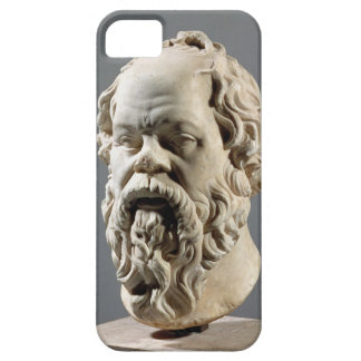 Socrates, marble head, copy from a bronze from the iPhone 5 covers