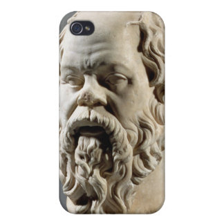 Socrates, marble head, copy from a bronze from the covers for iPhone 4