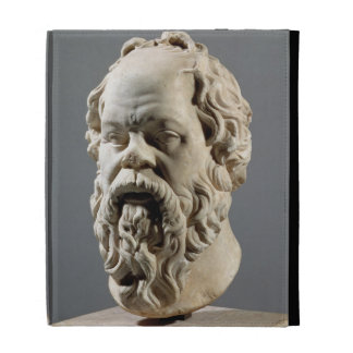 Socrates, marble head, copy from a bronze from the iPad folio cases