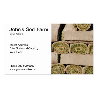 Sod Farm Business Card