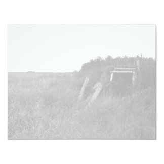 Sod House Remains on Tundra 11 Cm X 14 Cm Invitation Card