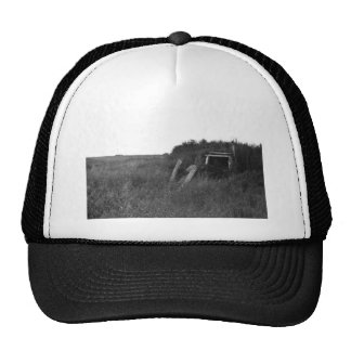 Sod House Remains on Tundra Hat