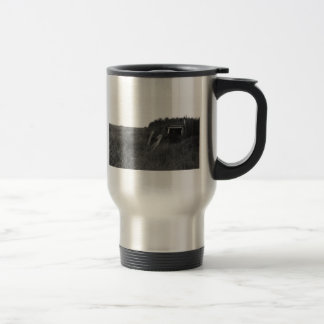 Sod House Remains on Tundra Coffee Mug