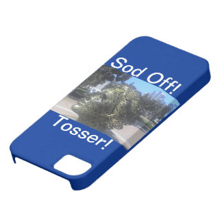 Sod Off Tosser! Iphone5 hardshell Case iPhone 5 Cover