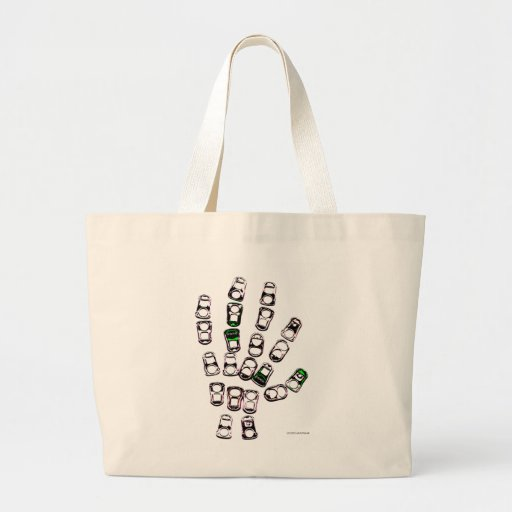 Soda can pull tab hand bags