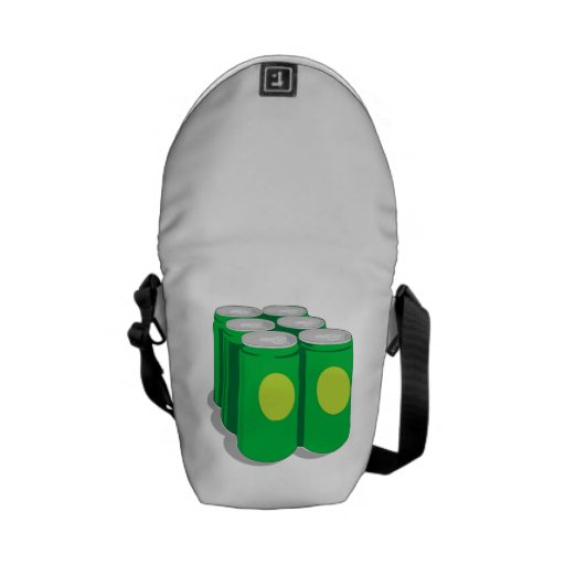 Soda Cans Messenger Bags
