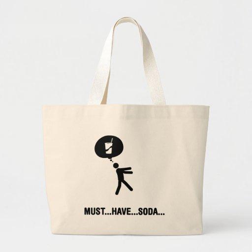 Soda Lover Canvas Bags