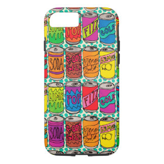 Soda Pop Cans iPhone 7 Case