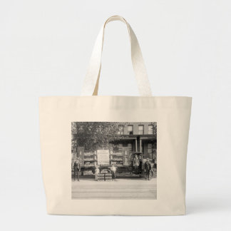 Soda Pop Delivery Truck, early 1920s Jumbo Tote Bag