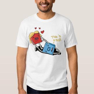 Sodium chloride t-shirts