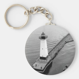 Sodus Outer Lighthouse 2 Key Ring