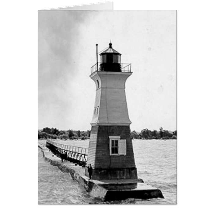 Sodus Outer Lighthouse Greeting Card