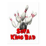 Sofa King Bad Bowling Postcards