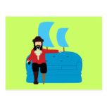 Sofa Pirate Postcards
