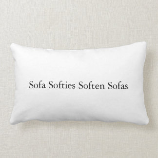 Sofa Softies Soften Sofas Pillow