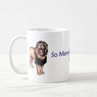 SoFewLions Coffee Mug