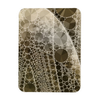 Sofia Bling Abstract Pattern Rectangular Photo Magnet