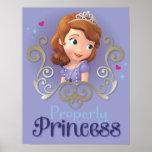 Sofia: Properly Princess Poster