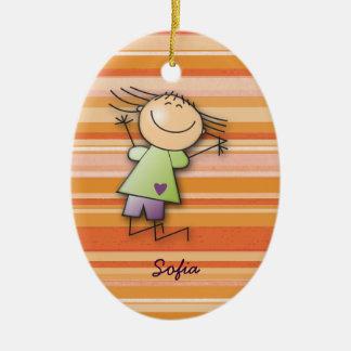 Sofia's room christmas ornament
