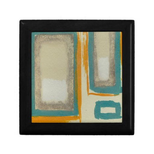 Soft And Bold Rothko Inspired Abstract Jewelry Box