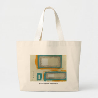 Soft And Bold Rothko Inspired Abstract Signed Tote Bag