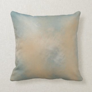 Soft and Dreamy Blue and Gold | Throw Pillow